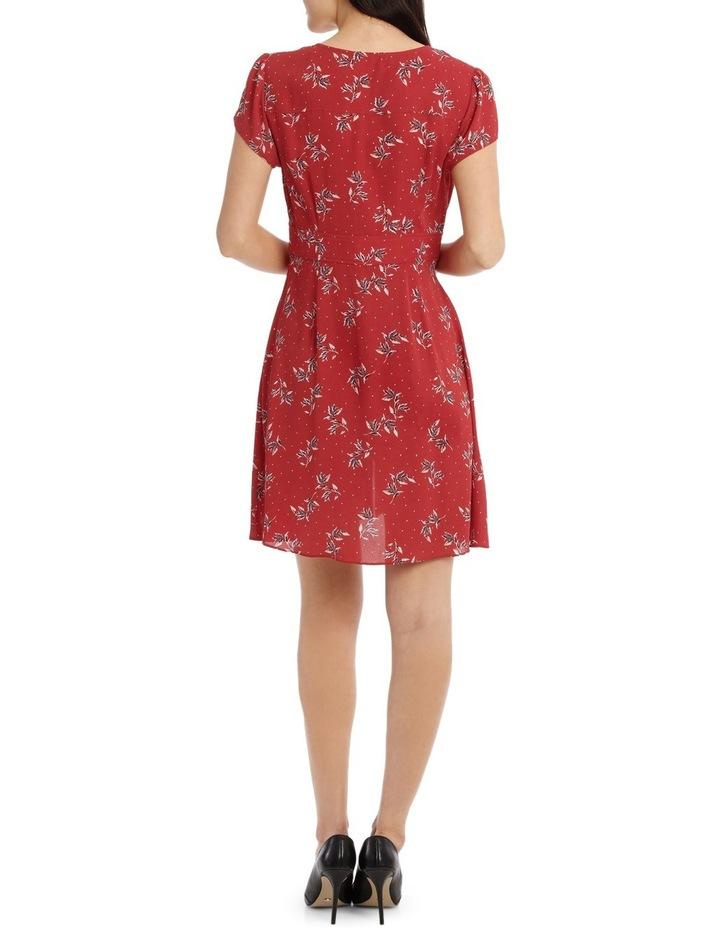 Button Up Tea Dress - Desert Spot Floral image 3
