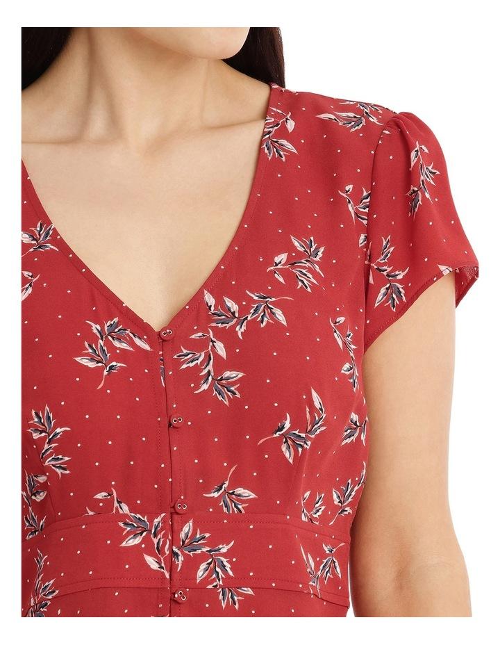 Button Up Tea Dress - Desert Spot Floral image 4
