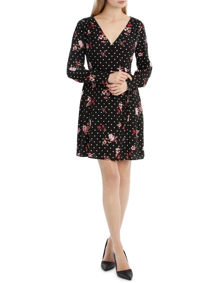 A-Symetrical Button Up Dress - Poppy Spot image 1