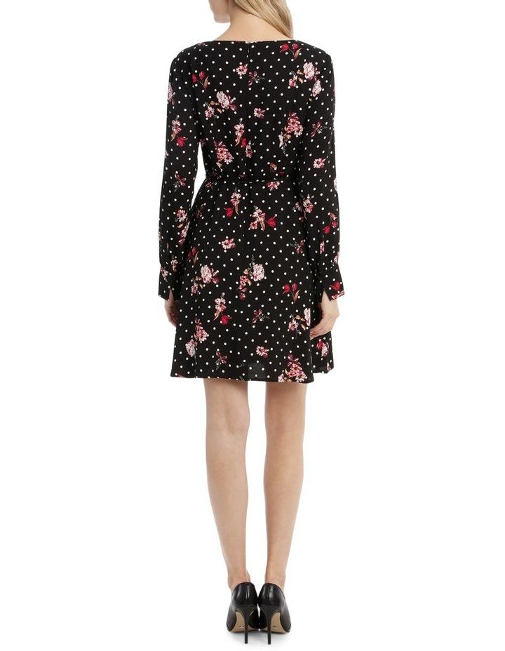 A-Symetrical Button Up Dress - Poppy Spot image 3