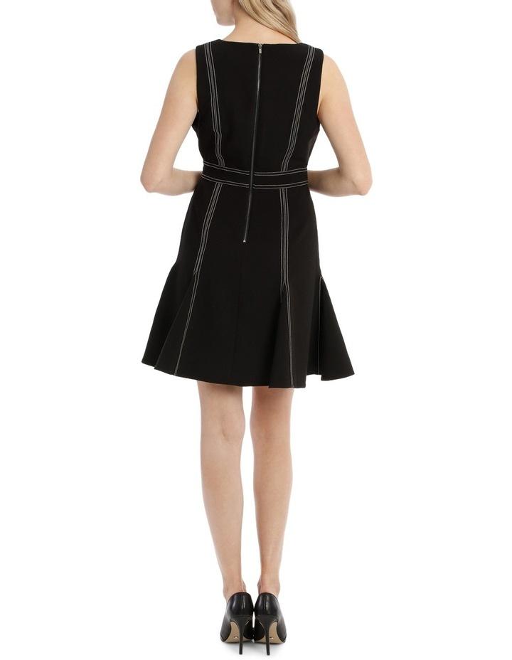 Contrast Stitch Skater Dress image 3