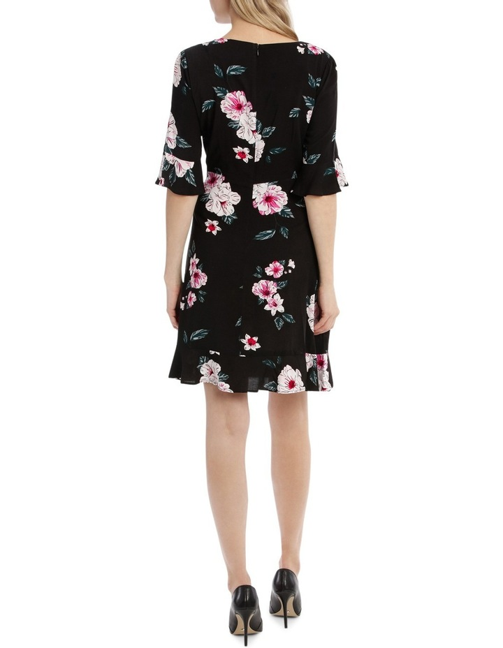 Mock Wrap Skirt Dress - Large Bloom image 3