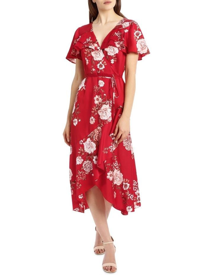 b1d40e63ea Frill Bodice Mock Wrap Maxi Dress image 1