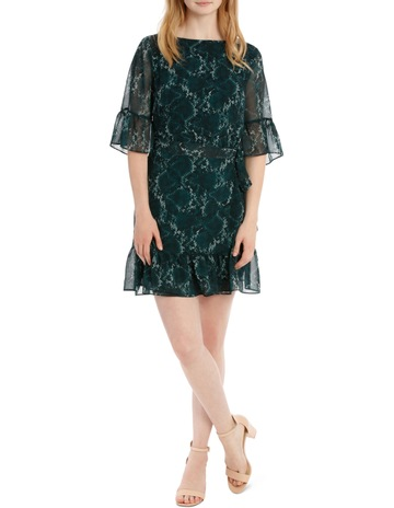 a4e322e37e Tokito apron front dress - snakeskin