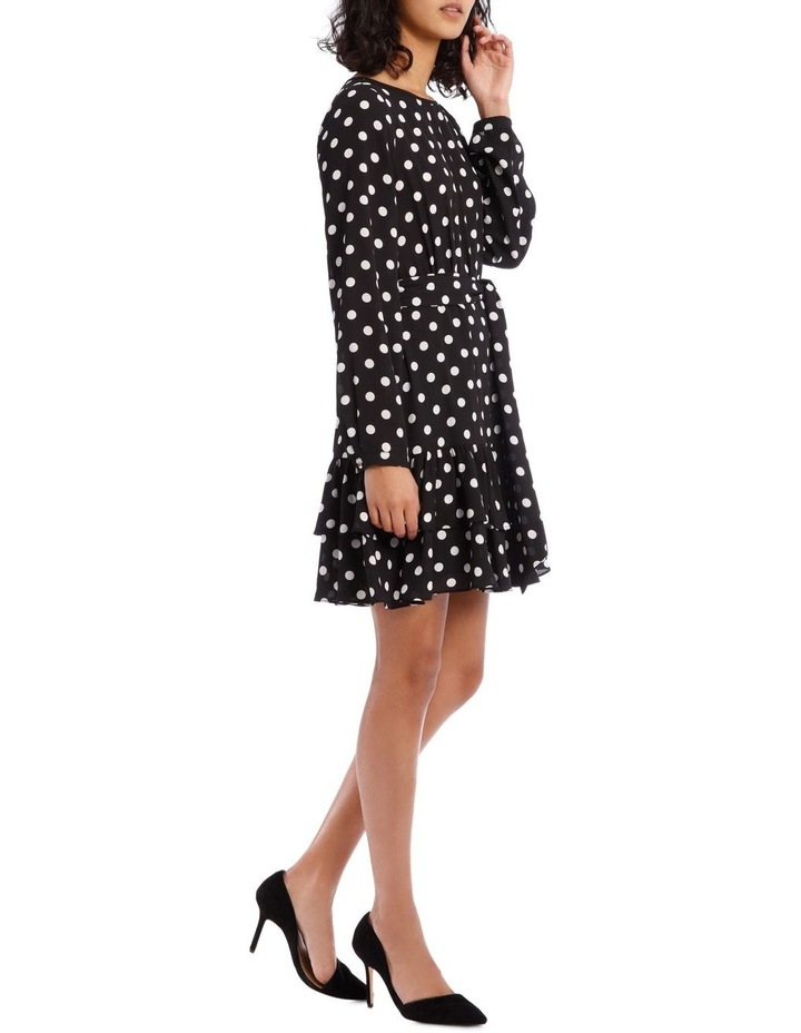 Double Frill Skirt Dress - Polka Dot image 2