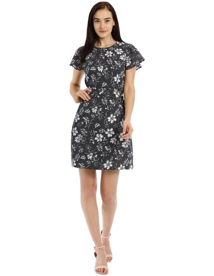 Wrap Skirt Pencil Dress image 1