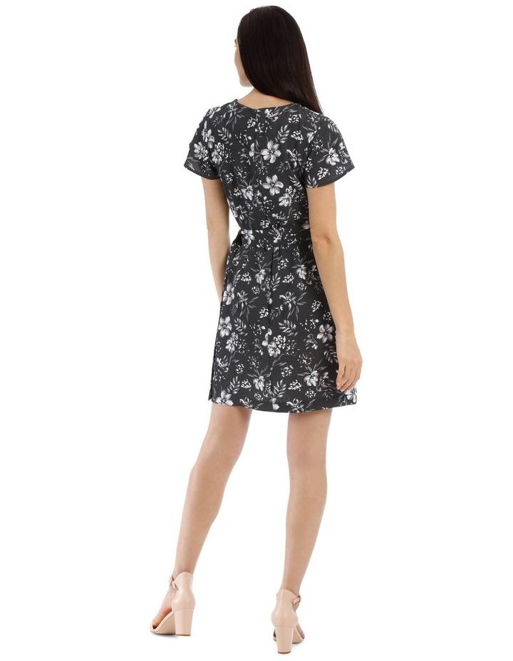 Wrap Skirt Pencil Dress image 3