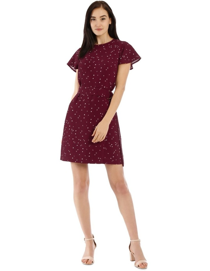 Scatter Ditsy Wrap Skirt Pencil Dress image 1