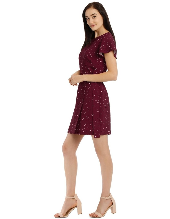 Scatter Ditsy Wrap Skirt Pencil Dress image 2