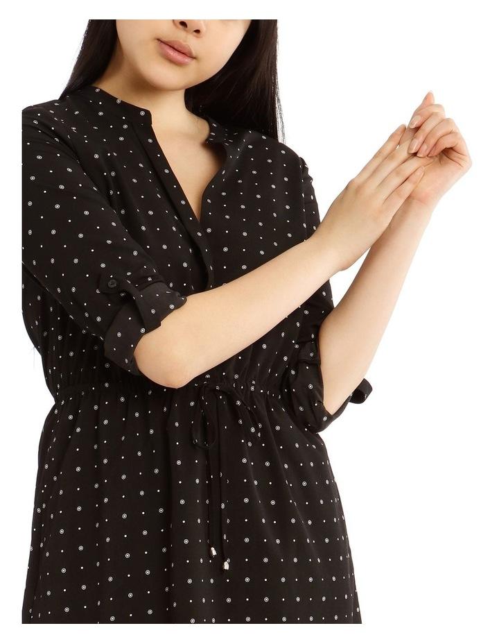 Roll Cuff Shirt Dress image 4