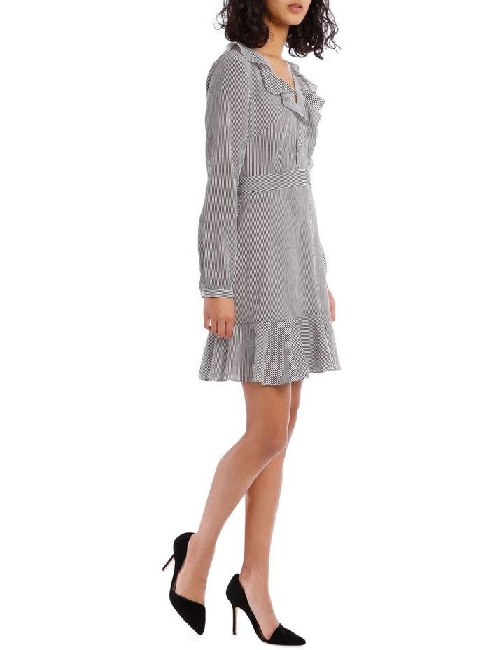 Shirting Stripe Frill Dress image 2