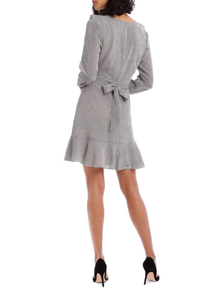 Shirting Stripe Frill Dress image 3