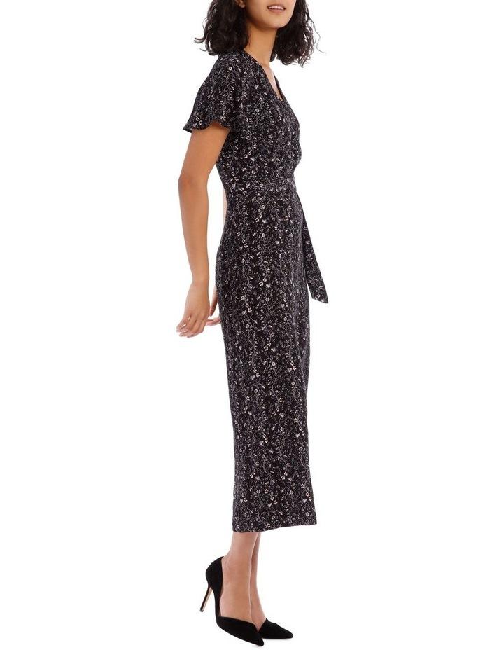 Vine Floral Culotte Jumpsuit image 2