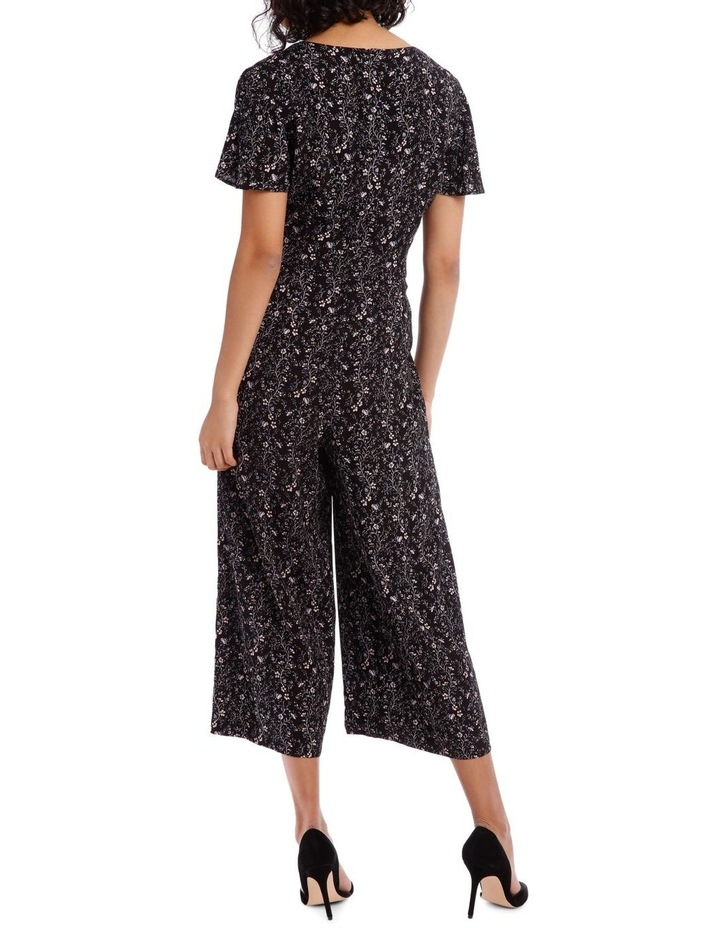 Vine Floral Culotte Jumpsuit image 3