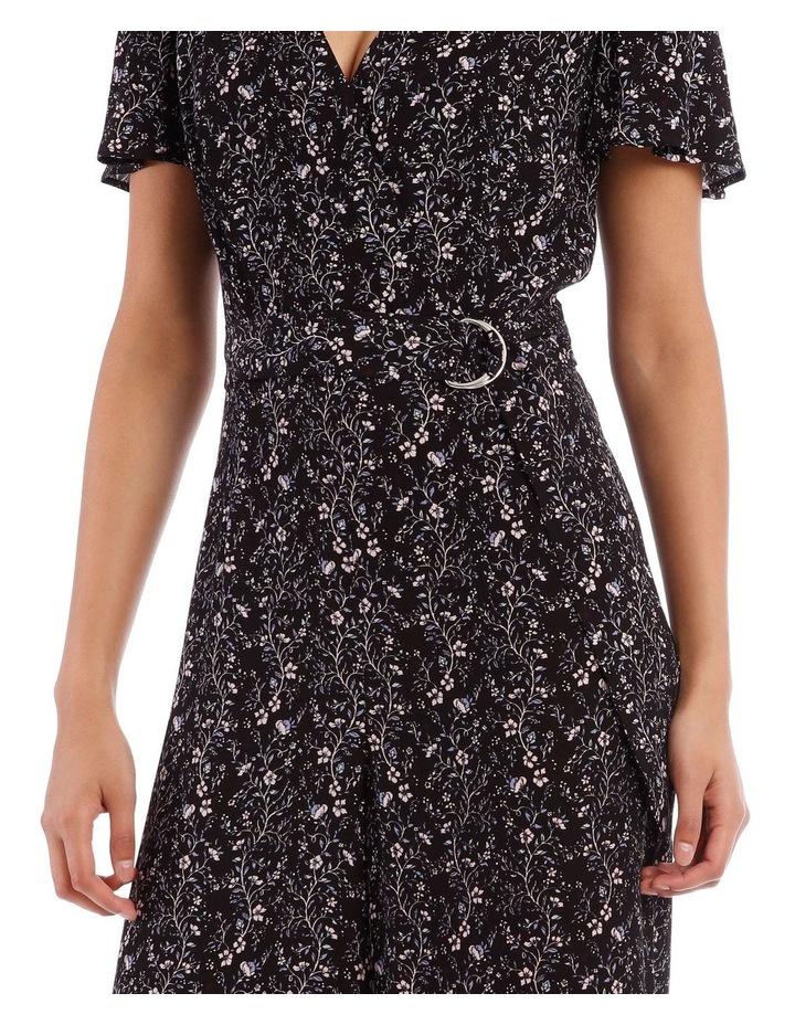 Vine Floral Culotte Jumpsuit image 4