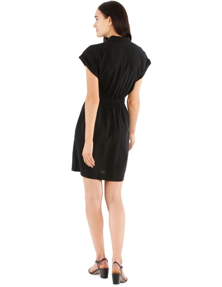 Zip Front Shirt Dress image 3