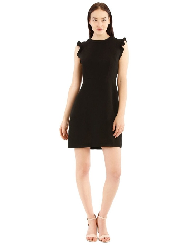 Fit And Flare High Neck Dress image 1