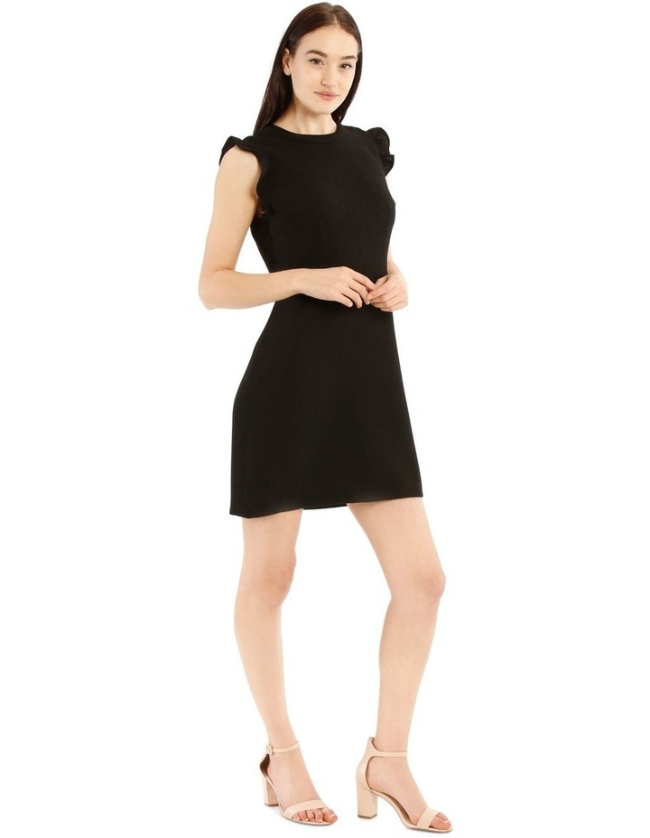 Fit And Flare High Neck Dress image 2