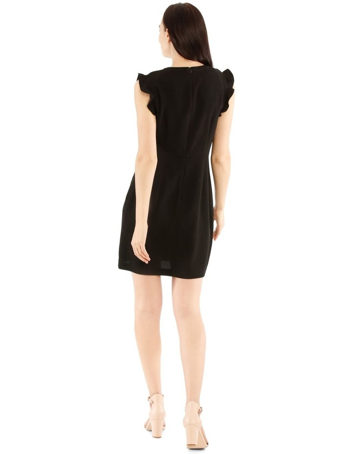 Fit And Flare High Neck Dress image 3