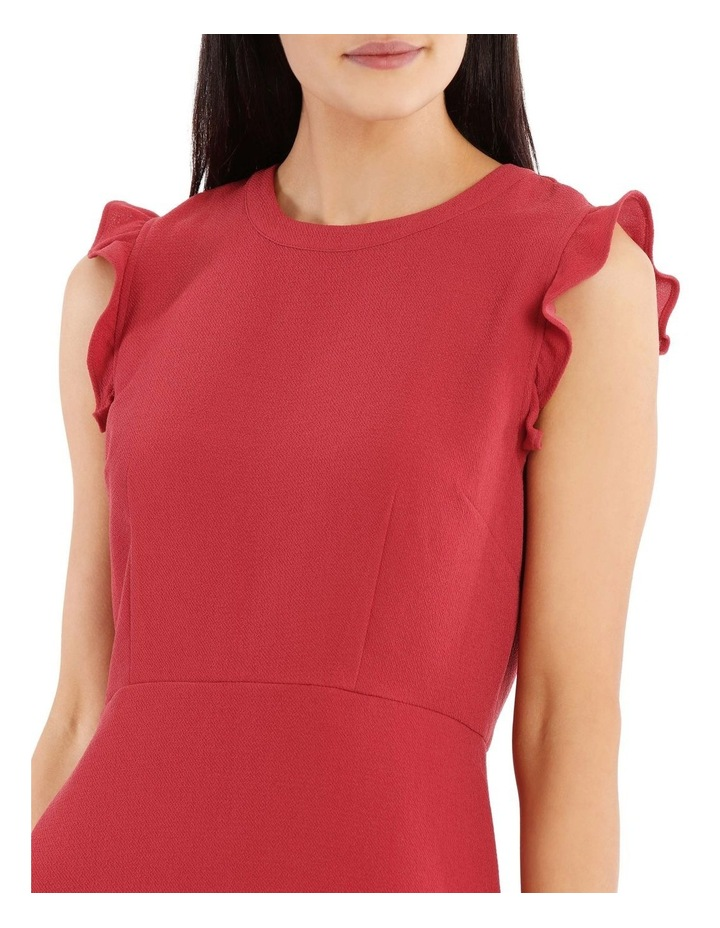 Fit And Flare High Neck Dress image 4