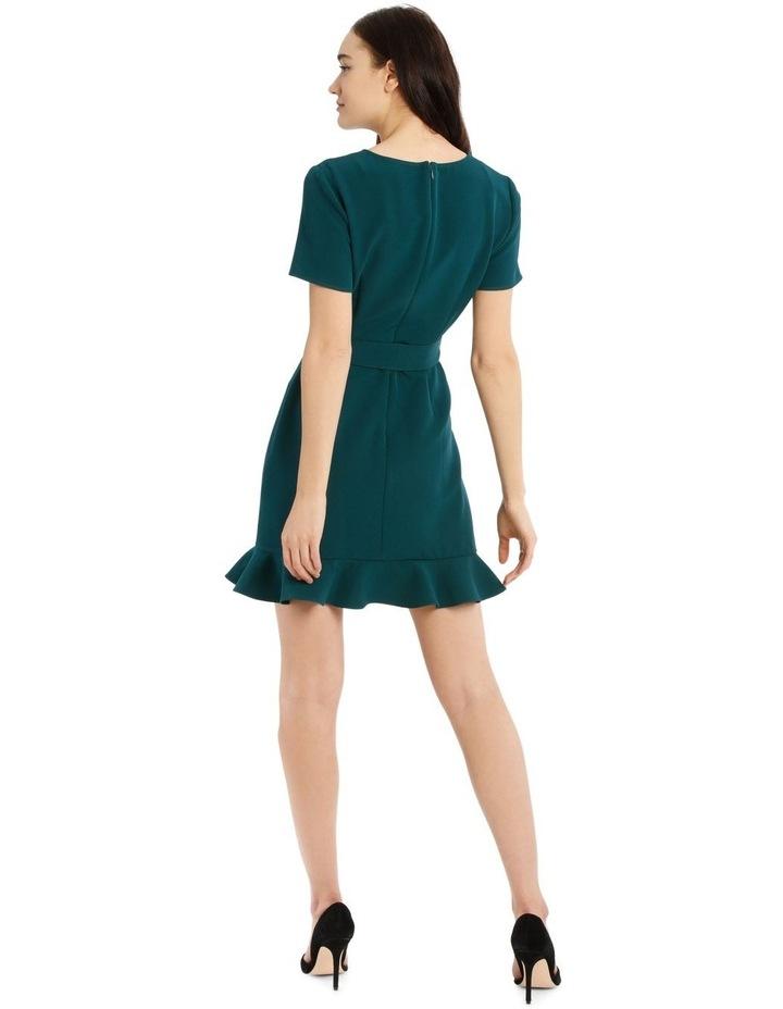 Belted Scuba Dress image 3