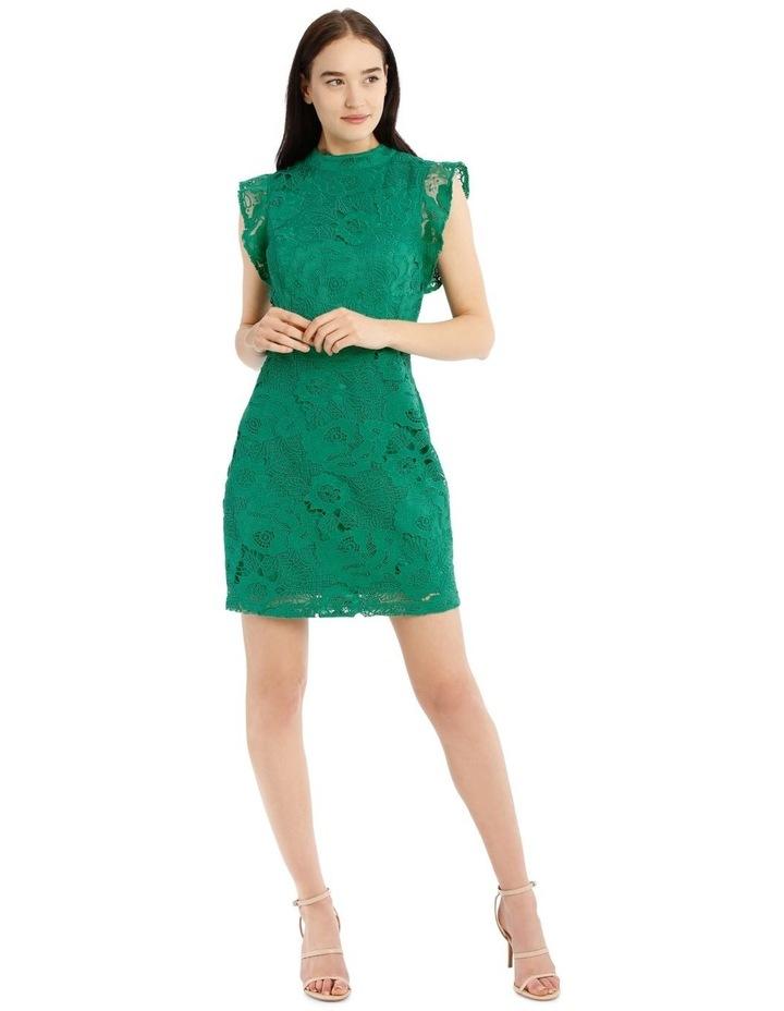 High Neck Lace Dress image 1