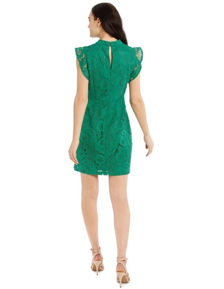 High Neck Lace Dress image 3