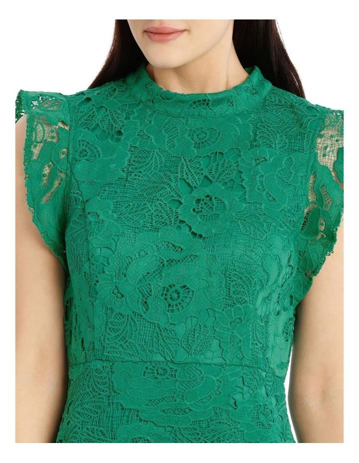 High Neck Lace Dress image 4