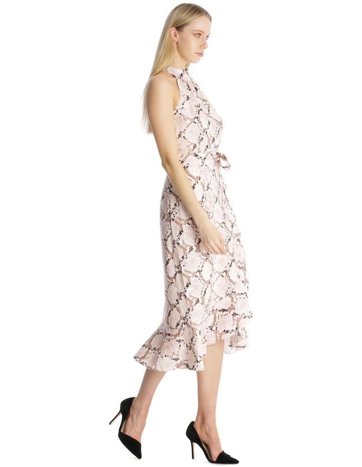 Halter Neck Wrap Dress image 2