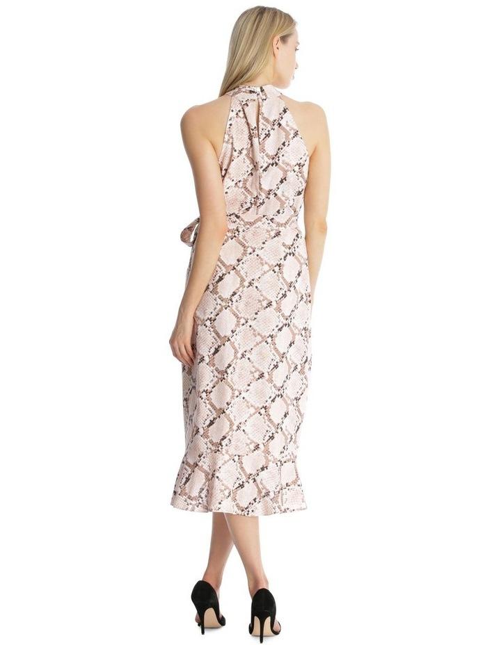 Halter Neck Wrap Dress image 3
