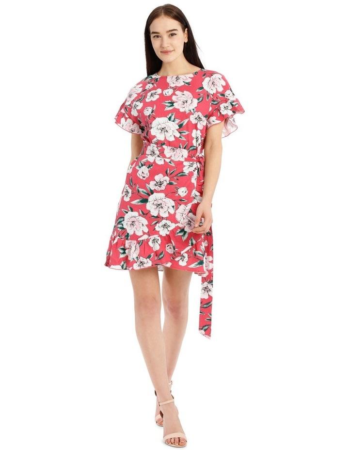 Apron Front Frill Dress image 1
