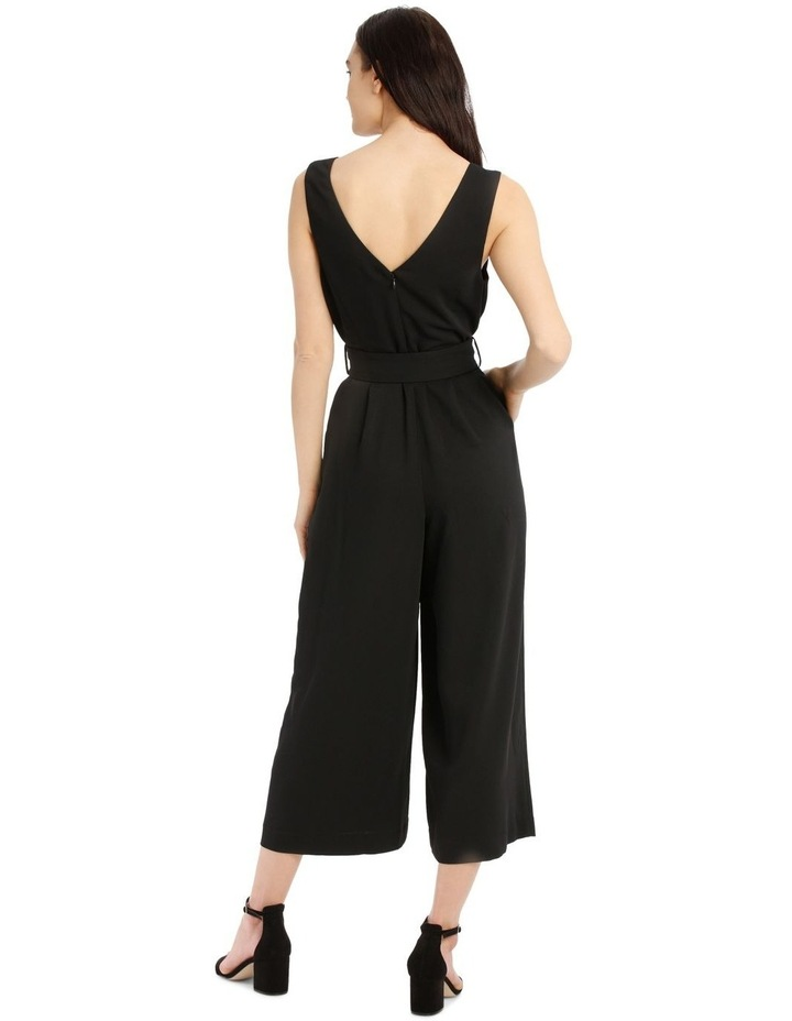Belted Textured Jumpsuit image 3