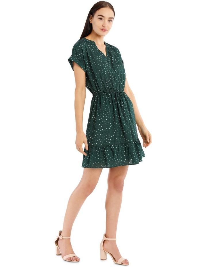 Frill Skirt Shirt Dress image 2