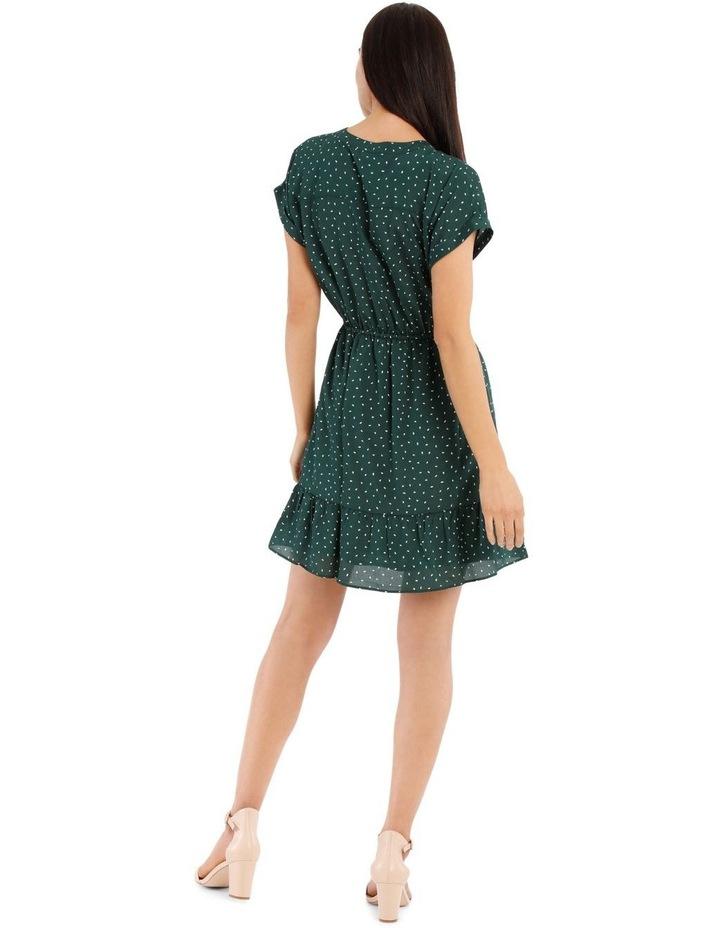 Frill Skirt Shirt Dress image 3