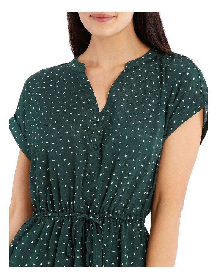 Frill Skirt Shirt Dress image 4