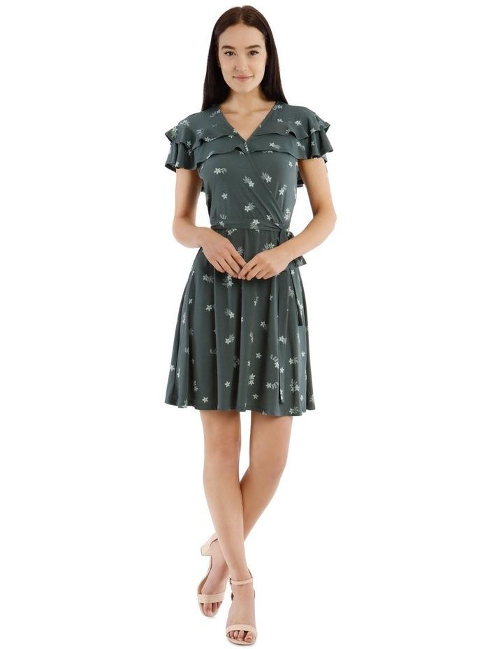 Frill Bodice Knit Dress image 1