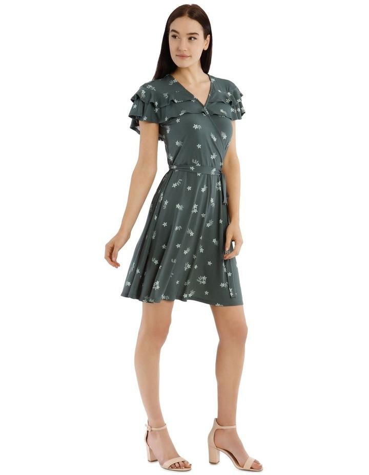 Frill Bodice Knit Dress image 2