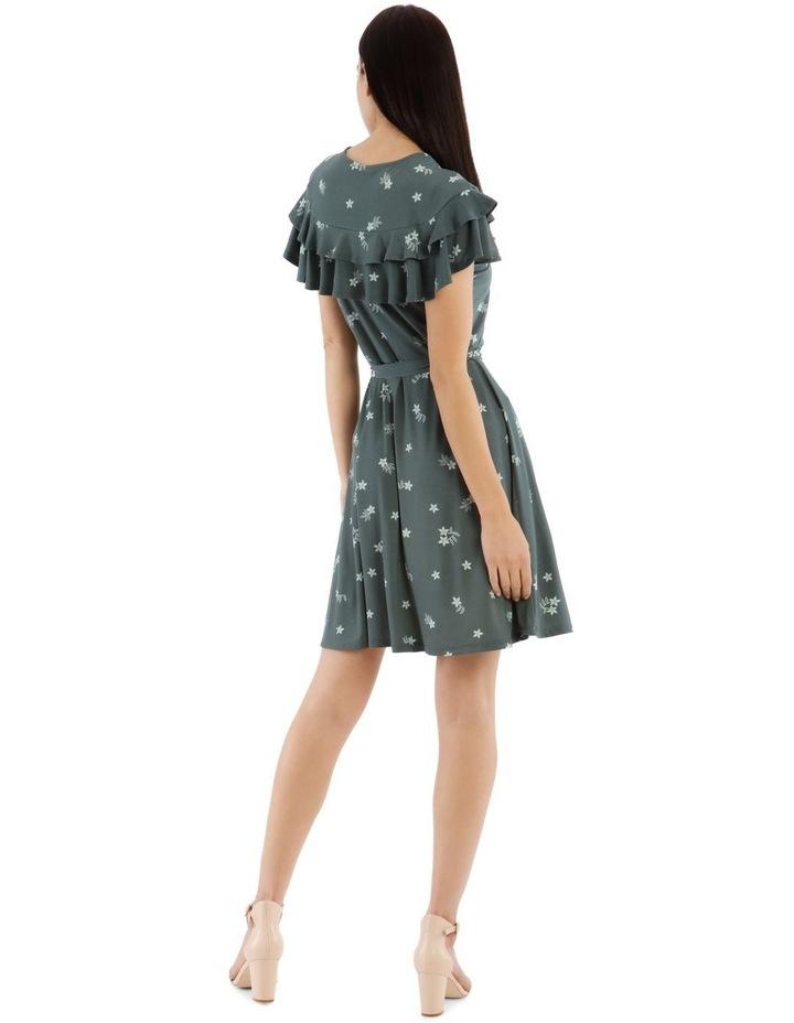 Frill Bodice Knit Dress image 3