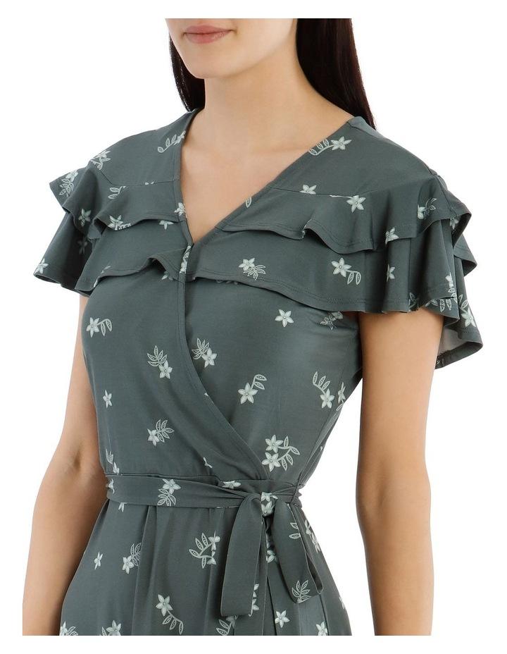 Frill Bodice Knit Dress image 4