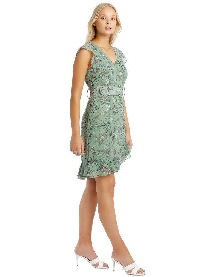 Belted Ruffle Dress image 2