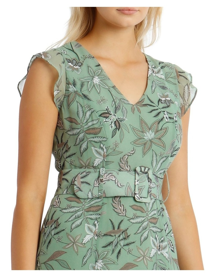 Belted Ruffle Dress image 4