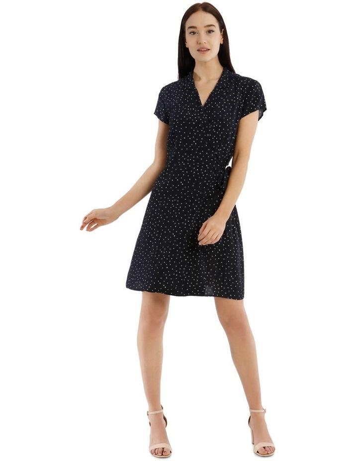 Shawl Collar Shirt Dress image 2
