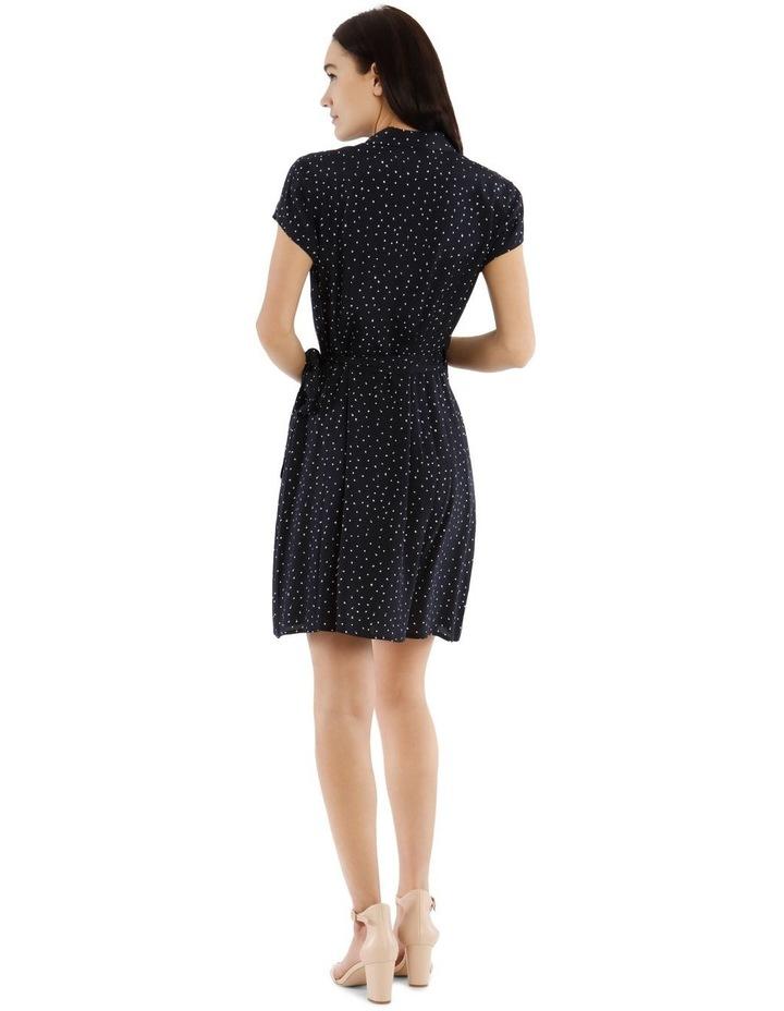 Shawl Collar Shirt Dress image 3