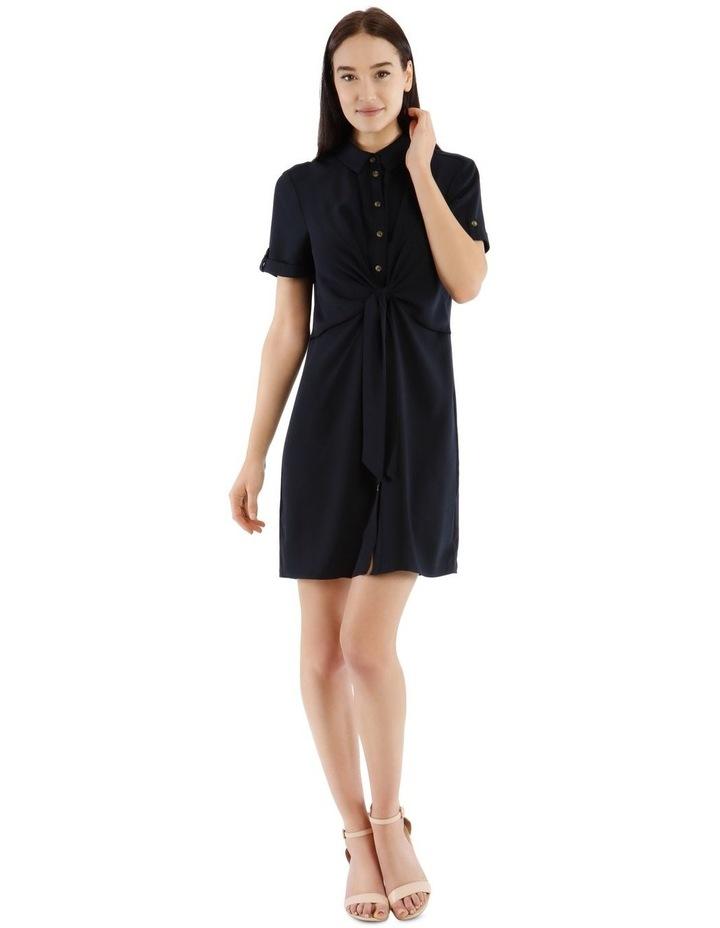 Tie Waist Shirt Dress image 1