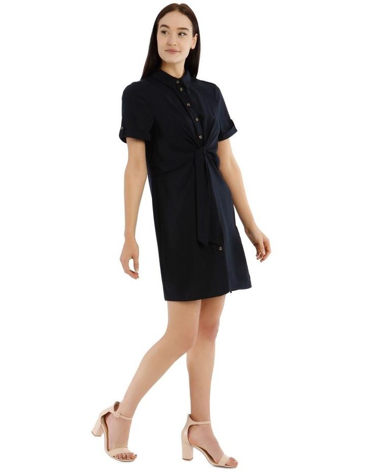 Tie Waist Shirt Dress image 2