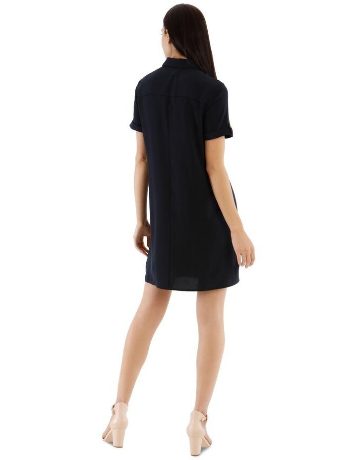 Tie Waist Shirt Dress image 3