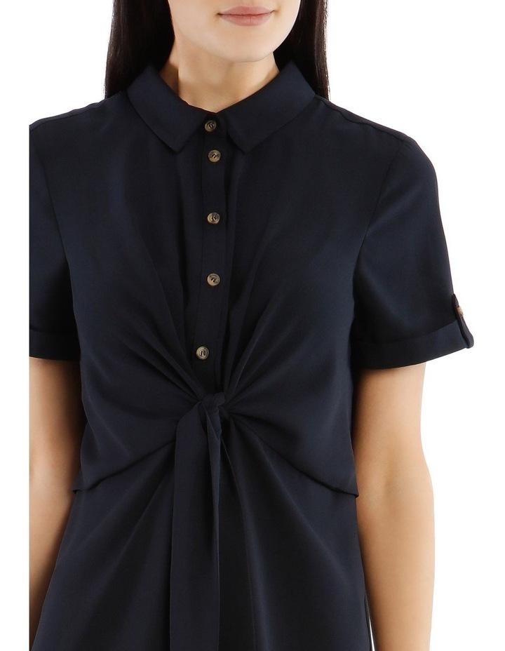 Tie Waist Shirt Dress image 4