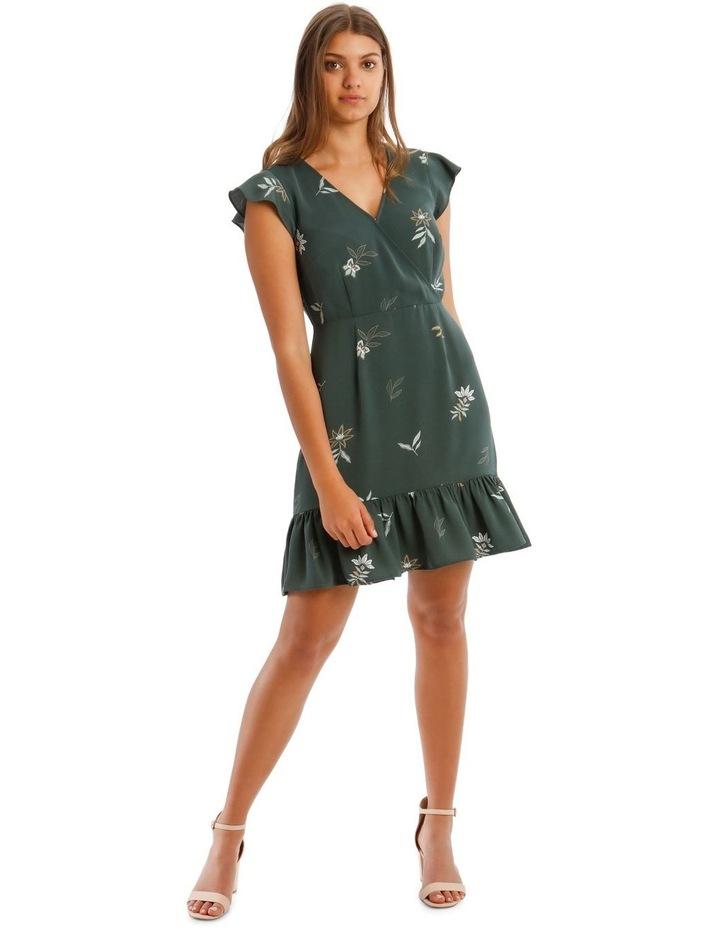Cross Front Skater Dress image 1