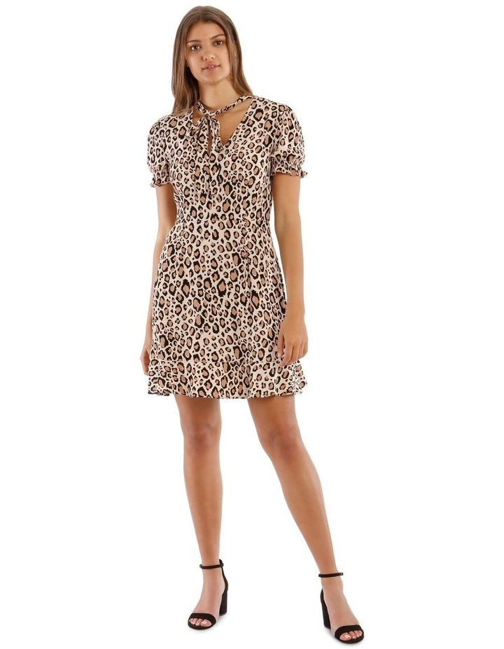 Pussy Bow Skater Dress image 1