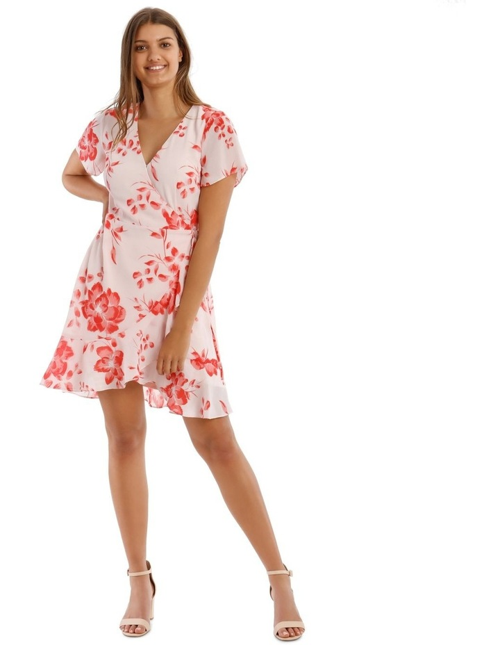 Frill Skirt Wrap Dress image 1